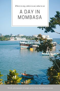 Are you coming to Mombasa or are you simply interested what it's like in this bustling city? We spent a day walking around the town and we would love to share with you our budget advice on where to stay, where to eat and what to see in Mombasa in a day! Kenya Travel, Mombasa, Far Away, What Is Like, Backpacking, Travel Inspiration, Budgeting, Photographs, Africa