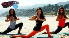 Beach Barre Workout With Renée Herlocker   Tone It Up Tuesdays, via YouTube.