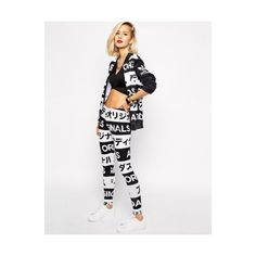 Adidas Originals Women's Japanese Tracksuit on Polyvore