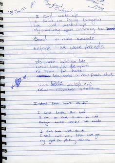 Lyrics - Beau Carter 2008