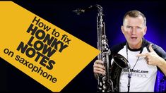 Saxophon lernen | How to fix Honky Low Notes on Saxophone