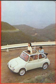 Japanese Cars, Vintage Japanese, Vintage Cars, Retro Vintage, Subaru Cars, Cute Cars, Small Cars, Old Cars, English English