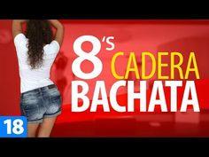 OCHOS con la CADERA   Cómo Mover la Cadera en Bachata   Estilo Chicas   Lady Style - YouTube Bachata Dance, Latin Dance, Zumba, Culture, Gym, Youtube, Songs, Workout, Fitness