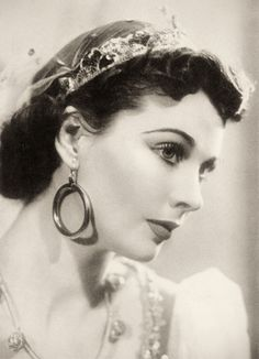 """""""Miss Vivien Leigh as Jenny might have stepped out of a poem by Tom Moore. She is artless without artifice, and no simper mars this freshness and this charm."""" -- James Agate reviewing The Happy Hypocrite, 1936"""