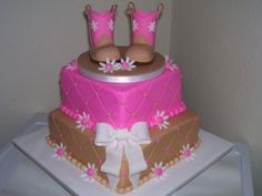 Art Cowboy Baby Shower Cakes cakes