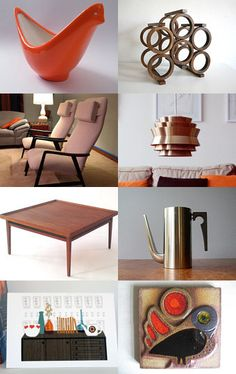 Modern Danish Apartment  by Vickie Moore from WingedWorld  --Pinned with TreasuryPin.com