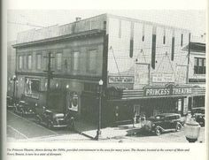 The Princess Theatre. Loved this place. Morristown Tennessee, Morristown Tn, Old Pictures, Old Photos, Jefferson County, East Tennessee, Interesting News, Back In The Day, Old Houses
