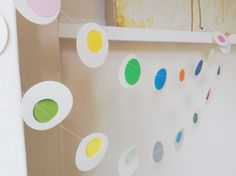 Hoopla  Paper Garland Party Decoration Photo Prop by MaisyandAlice