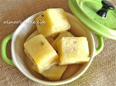 百香果鳳梨芋仔冰