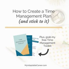 Click through to grab a free time management toolkit and learn tricks to help you take back control of your time.