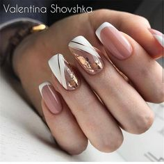2019 2020 novelty and trends in manicure page 63 of 119 Gel Nail Designs . - 2019 2020 novelty and trends in manicure page 63 of 119 Gel Nail Designs 2020 Gallery 2019 2 - Nude Nails, White Nails, Acrylic Nails, My Nails, Coffin Nails, Square Nail Designs, Simple Nail Designs, Bridal Nails, Wedding Nails