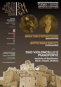 Duo violoncello e pianoforte con Matteo Maria Zurletti e Maria Carla Notarstefano