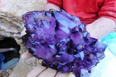 Amethyst from Reel Mine, Iron Station, North Carolina