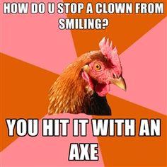 Anti Joke Chicken - this made me laugh!