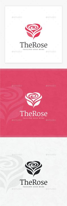 Rose Logo - Nature Logo Templates Download here : graphicriver.net/...