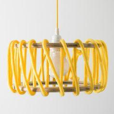 Macaron Oak Lamp, Yellow - 30cm - Lights - EMKO - Space & Shape - 1
