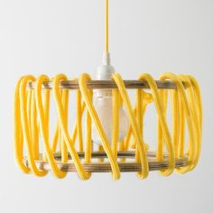 Macaron Oak Lamp, Yellow - 30cm - Lights - EMKO - Space & Shape - 1