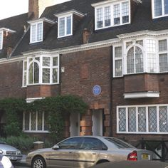 The home of author A. A. Milne 13 Mallord Street, London ,SW3 It was here where Milne's son Christoper Robin was born