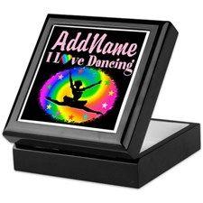 GRACEFUL DANCER Keepsake Box http://www.cafepress.com/sportsstar/10423569 #Dancer #Dancergifts #Ballet #Ballerina  #Personalizeddancer