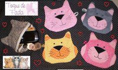 https://flic.kr/p/8QPkQM | CATeirinha!!! | Trocadilhos a parte, essa carteira de gatinho, é perfeita para colocar moedas, cartões e outras coisinhas!!!! Várias cores....