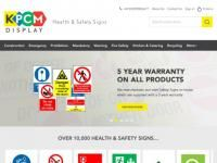 KPCM Display Health and Safety Signs Promo Codes 2017