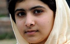 Malala Yousafzai - Pakistani teenaged rights activist who was shot in the head by the Taliban for advocating girls' education will soon undergo cranial reconstructive surgery, report sources. Malala Yousafzai, Right To Education, Pakistani Girl, International Day, World Leaders, Women In History, Change The World, Ladies Day, Role Models
