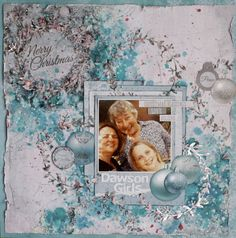 A Little of Everything – Kaisercraft Official Blog - love the light blue -  a new take on christmas.