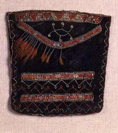 Pouch. Delaware. Mid to late 18th century.