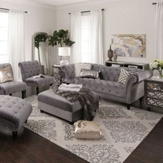 15 Modern Living Room Design Ideas to Upgrade your Home Style – My Life Spot Cute Living Room, Living Room Grey, Living Room Sets, Living Room Interior, Living Room Furniture, Living Room Designs, Living Room Decor, Rustic Furniture, Modern Furniture