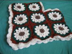 Childs Granny Square Poncho - Crochet Tutorial