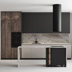 Kitchen Room Design, Kitchen Interior, Interior Design Living Room, Kitchen Decor, Store Interiors, Kitchen Models, Contemporary Kitchen Design, Furniture Design, House Design