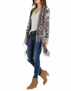 Charlotte Russe, Duster Coat, Kimono Top, Jackets, Tops, Women, Fashion, Down Jackets, Moda