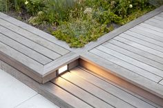 Step Light in deck - Gardenista