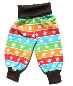 JNY Organic Jersey pants - Striped Stars Retro Baby Clothes - Baby Boy clothes - Danish Baby Clothes - Smafolk - Toddler clothing - Baby Clothing - Baby clothes Online