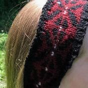 Black Arrow Headband - via @Craftsy