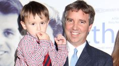 Douglas Kennedy and son