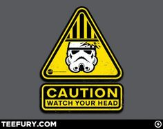 Storm Trooper Safety T-Shirt