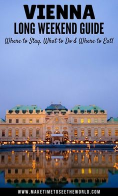 Only have 48 hours in Vienna? Then this guide is for you. Click for my Top 10 things to do in Vienna to ensure you don't miss out! We've picked out the best sites and wrapped it up in this handy little post so that you have all you need to have the Perfec