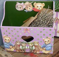 Tedy Bear, Lunch Box, Bento Box