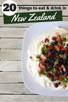 20 Things to Eat & Drink in New Zealand