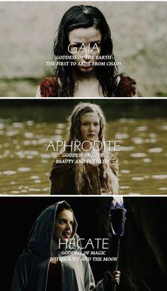 Merlin + Greek Goddesses 2/4
