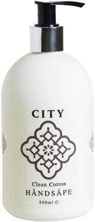 city handsape 500 ml hvit