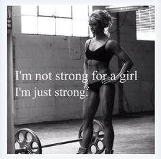 girl strong...