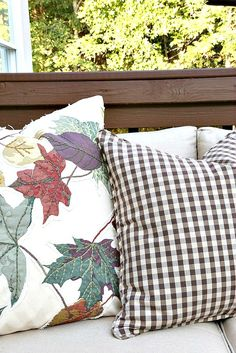 Savvy Southern Style: My Fall Deck and a Harvest Tour Mixing Patterns, Savvy Southern Style, I Fall, French Country, Harvest, Garden Design, Home And Garden, Deck, Tours