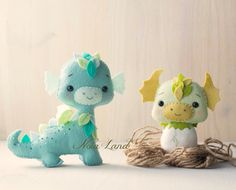 This PDF hand sewing pattern will give you instructions and patterns to make two cute dragons pictured.  Size: 5 and 6 approximately.  Language: English  THIS IS NOT A FINISHED DOLLS.  THIS PDF e-Pattern includes: . Step by step photo tutorial. . A material and supply list. . Full size pattern pieces just Print and Sew! (No need to enlarge or resize!)  Skill Level: intermediate  Items made using this pattern may be sold in your own shop. Mass production, re-sale and distribution of pattern…