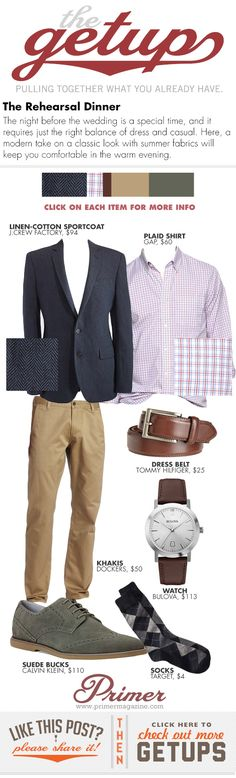 The Getup: The Rehearsal Dinner