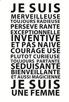 "Motivation Quotes : Pour le 8 mars : ""Je suis une Femme"" by GALI ART Revendiquez vos qual. - About Quotes : Thoughts for the Day & Inspirational Words of Wisdom Positive Attitude, Positive Thoughts, Positive Vibes, Words Quotes, Life Quotes, Sayings, Wisdom Quotes, Positiv Quotes, Johann Wolfgang Von Goethe"