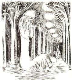 Tove Jansson Hobbit | Ilustraciones de Tove Jansson, la creadora de los Moomins, de Alicia ...