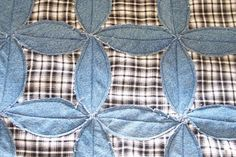 Circle Jean Quilt great tutorial