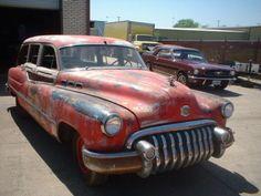 '50 Buick Woodie Station Wagon